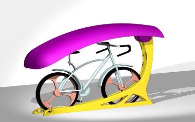 קונספט לתיכנון מעמד אופניים