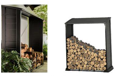 תיכנון ועיצוב מחסה עצים להסקה המשלב חלקי פלסטיק בהזרקה עם חלקי אקסטרוזיה